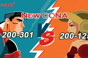 What would be the difference between CCNA 200-125 and CCNA 200-301?