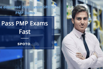 Try Free SPOTO Latest PMP Practice Tests 2020