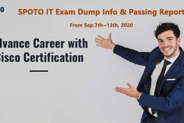 Hot News-SPOTO IT Exam Dump Info & Passing Report from Sep.7th to Sep.13th, 2020