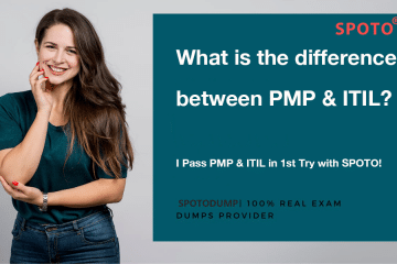 What is the difference between PMP & ITIL?