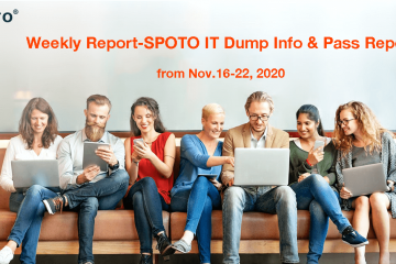 Weekly Report-SPOTO IT Dump Info & Pass Report from Nov.16-22, 2020