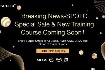Breaking News-SPOTO Special Sale & New Training Course Coming Soon in Nov.!