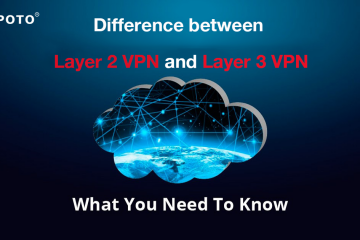 Difference between Layer 2 VPN and Layer 3 VPN