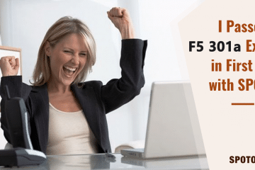 Download Free SPOTO Latest F5-301A Practice Tests 2021