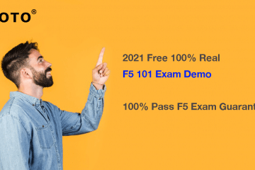 Download 2021 Free 100% Real F5 101 Exam Demo