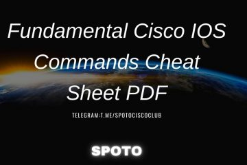 Fundamental Cisco IOS Commands Cheat Sheet PDF