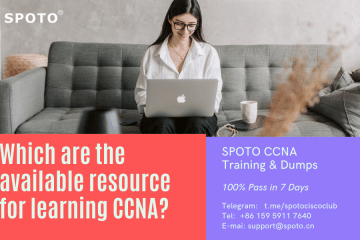 What are the available resources for learning CCNA?