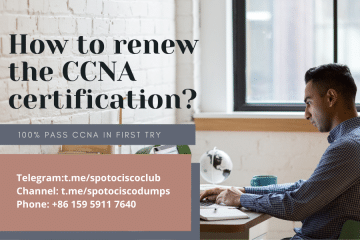 How to renew the CCNA certification?
