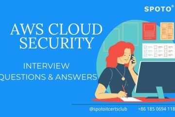 Check 2021 Top AWS Cloud Security Interview Questions & Answers!
