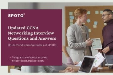 Updated CCNA Networking Interview Questions and Answers