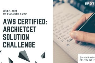 Free!!!AWS Architect Solution Certification Exam Voucher Challenge offer.