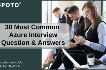 30 Most Common Azure Interview Question& Answers