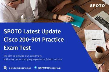 [Aug 2021] SPOTO latest update Cisco 200-901 Practice Exam Test