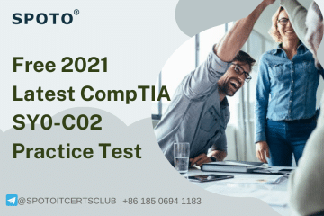 Free 2021  Latest CompTIA SY0-601 Practice Test