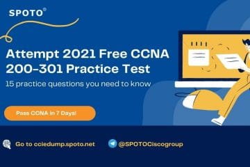 Attempt 2021 Free CCNA  200-301 Practice Test to Test Yourself