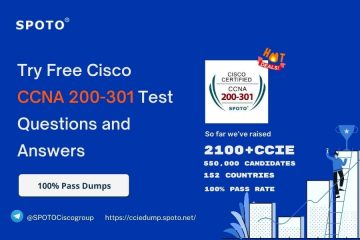 Try Free Cisco CCNA 200-301 Test questions and answers