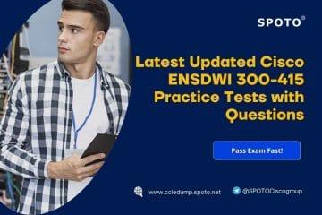 Latest Actual Cisco 300-410 ENARSI Practice Tests