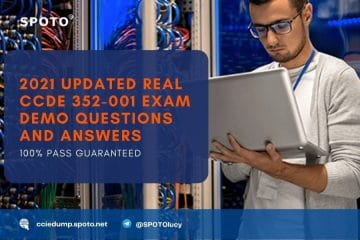2021 Updated Real CCDE 352-001 Exam Demo Questions and Answers
