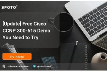 [Update] Free Cisco CCNP 300-615 Demo You Need to Try