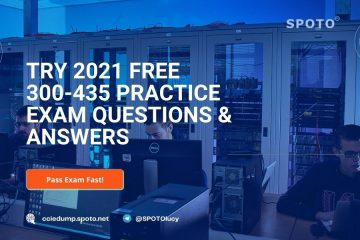 Try 2021 Free 300-435 Practice Exam Questions & Answers