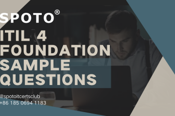Newly Updated ITIL 4 Foundation Sample Exam Questions and Answers!