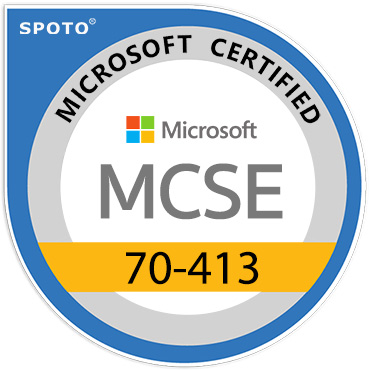Microsoft 70-413 MCSE Certification Exam
