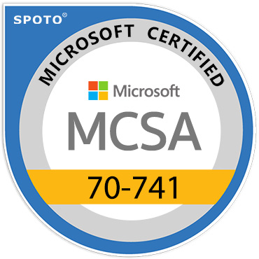 Microsoft 70-741 MCSA Certification Exam