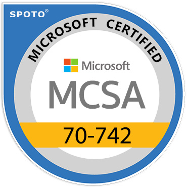 Microsoft 70-742 MCSA Certification Exam