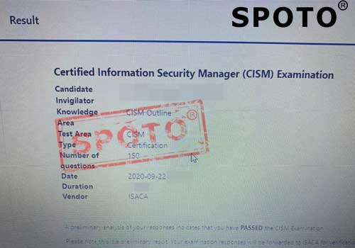 CISA/CISM Other Written