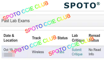 CCIE Wireless Lab