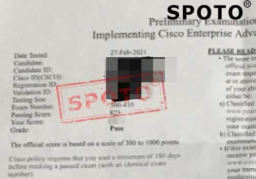 CCNP Enterprise Written