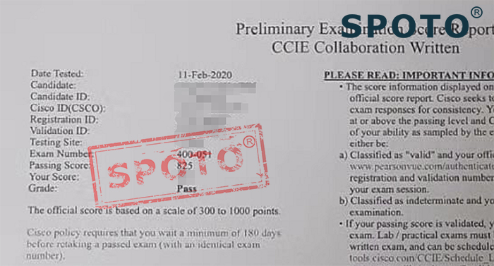 CCIE Collaboration Written