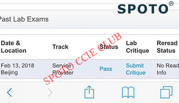 CCIE SP Lab